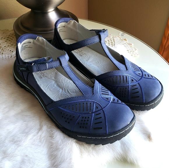 """Jambu """"Bridget"""" T-strap Shoes-Size 8"""